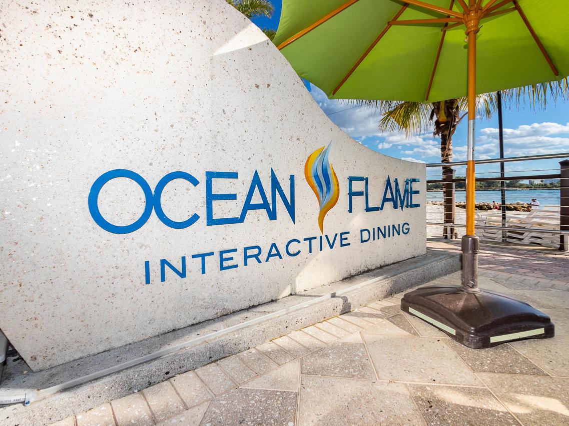 ocean flame sign