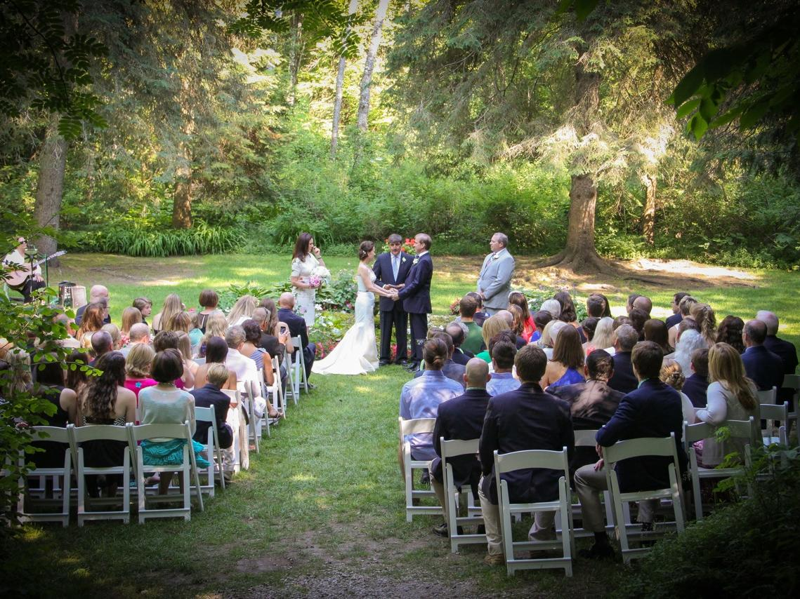Woodland Grotto Ceremony