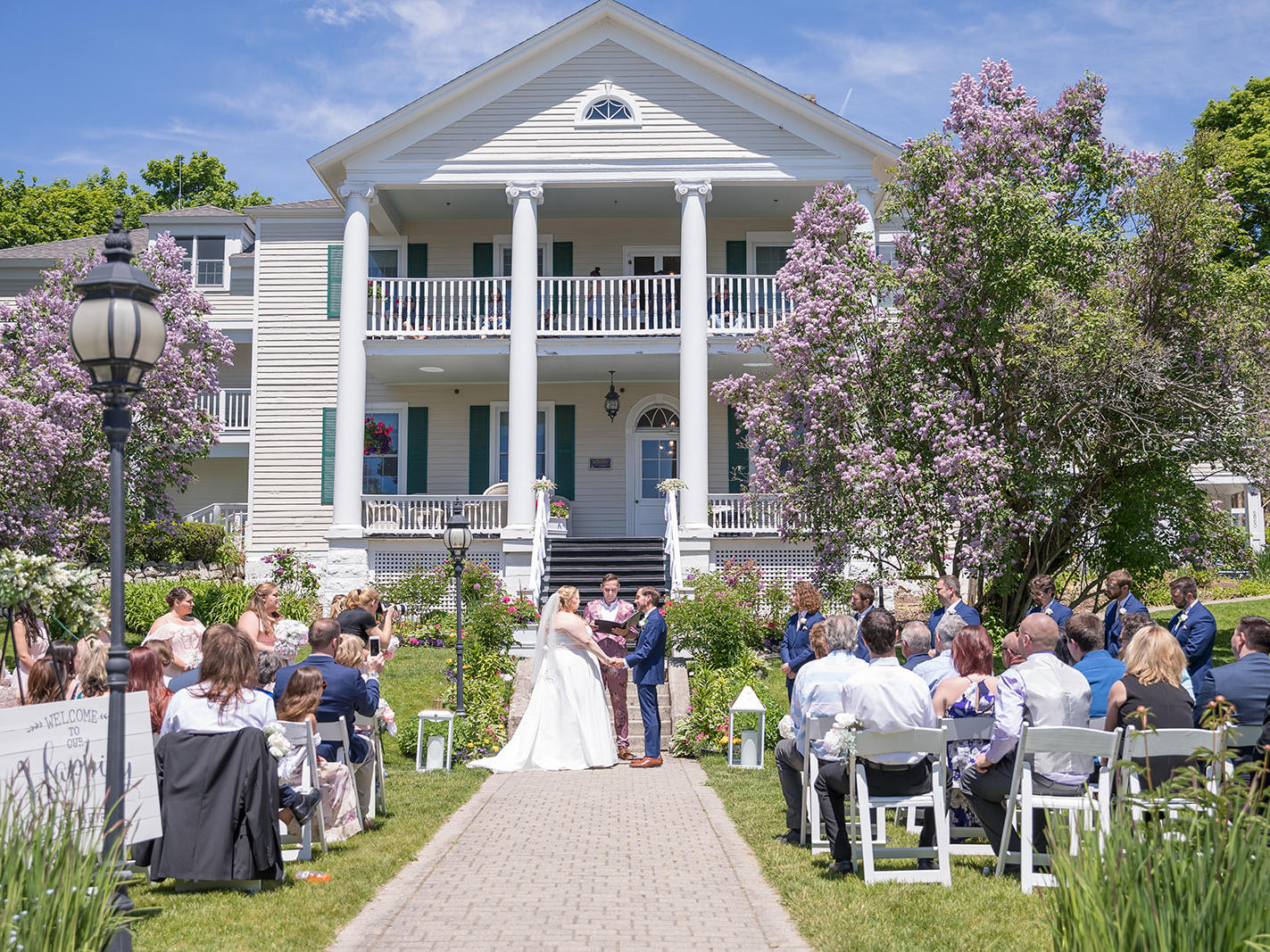 Harbour View Front Lawn Wedding