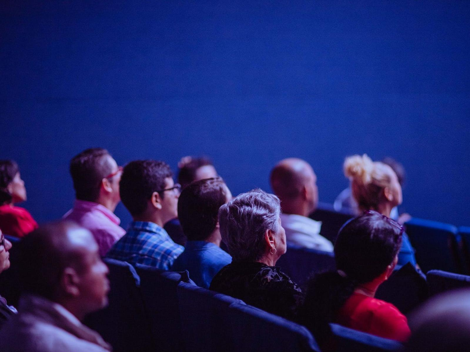 people in a theater