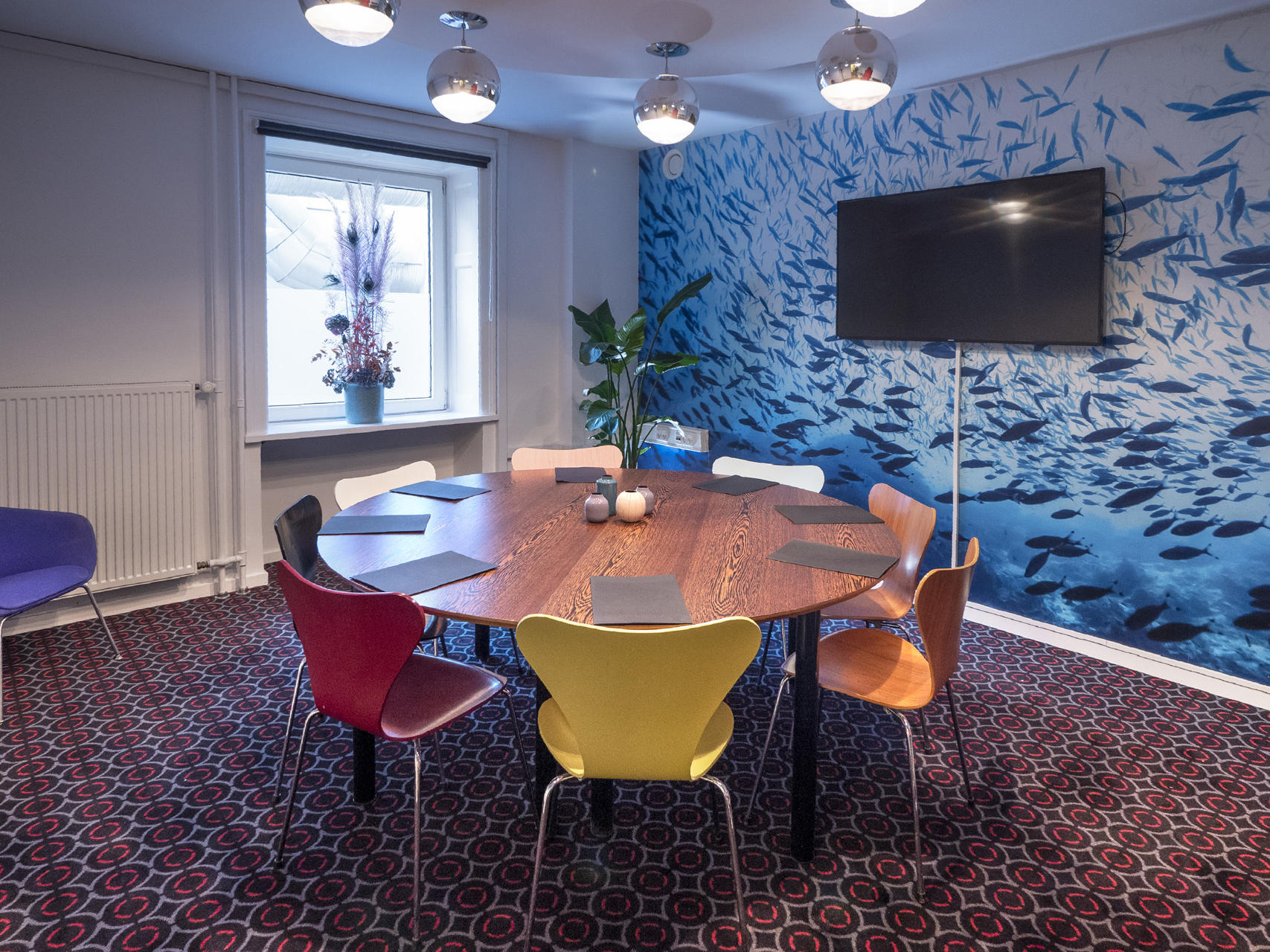 Board room at Hotel Twentyseven Copenhagen