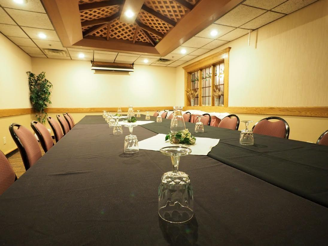 conference room with large table