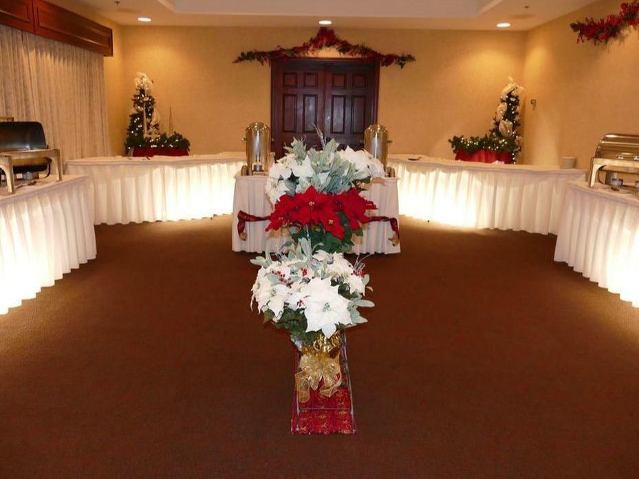 View of the elegant Board Room at Wedgewood Resort