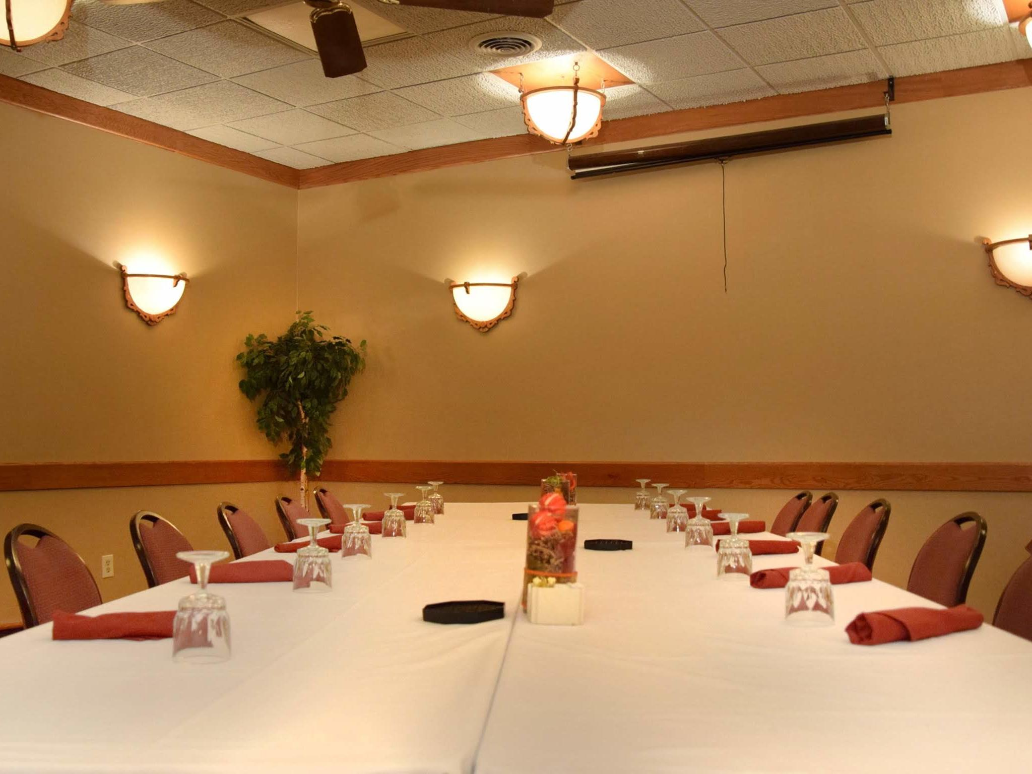 meeting room with large table