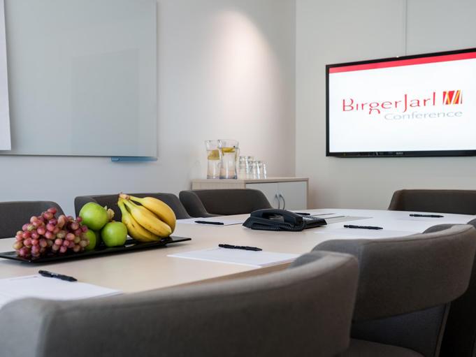 Table Talk Room at Hotel Birger Jarl in Stockholm, Sweden