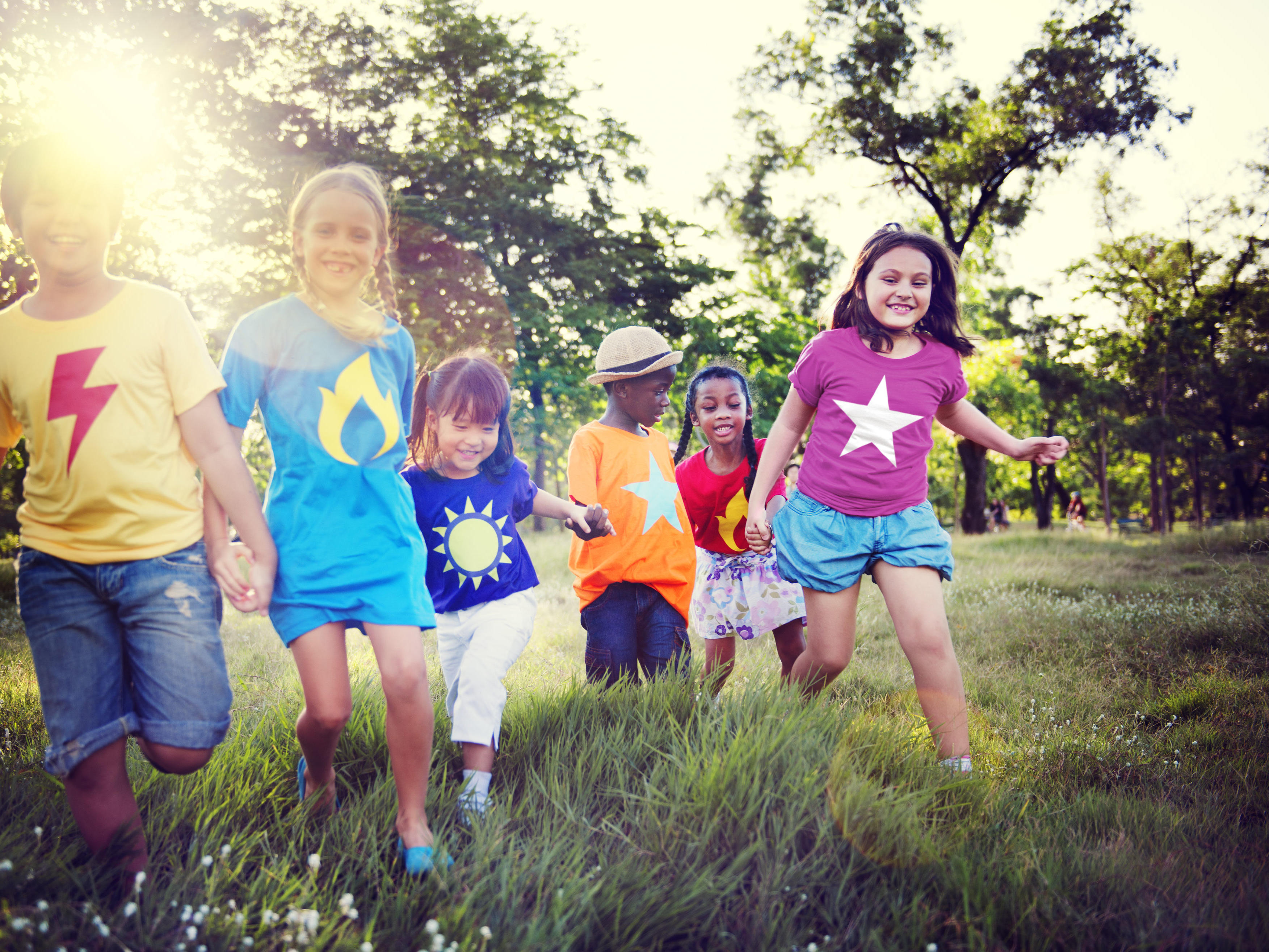 Kids playing at Grand Coloane Resort