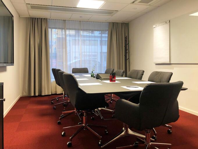 Let's talk Room at Hotel Birger Jarl in Stockholm, Sweden
