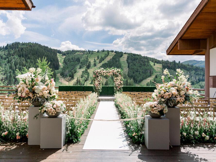 Flagstaff Deck at Stein Eriksen Lodge
