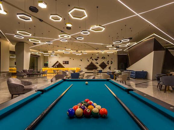 Interior view of Bay La Sun Club at Bay La Sun Hotel & Marina