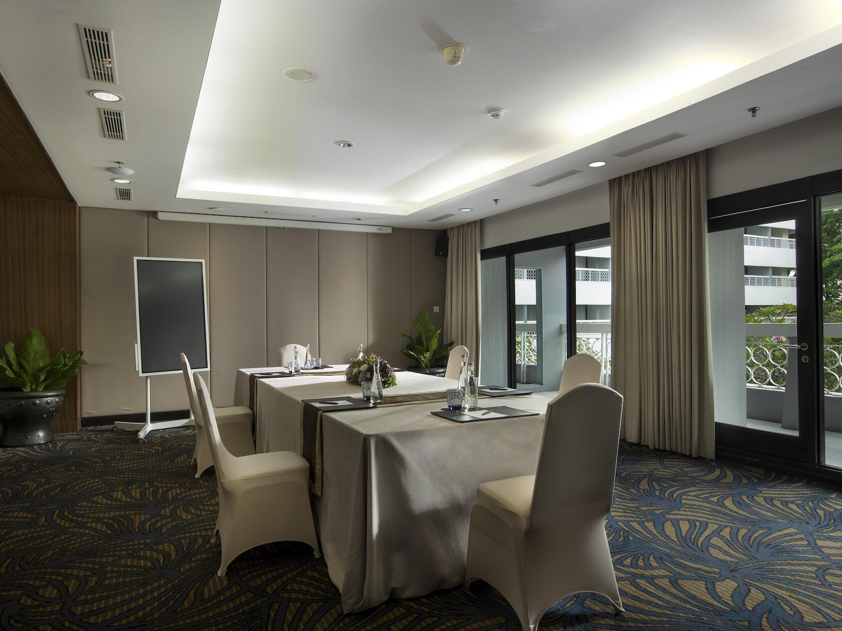 The arranged Pasewakan Room at Royal Ambarrukmo Yogyyakarta