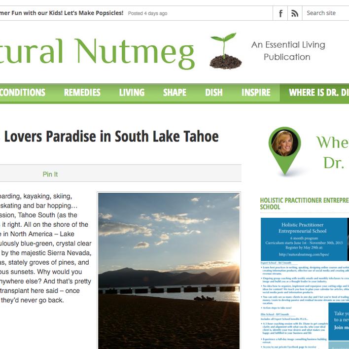 natural nutmeg screenshot