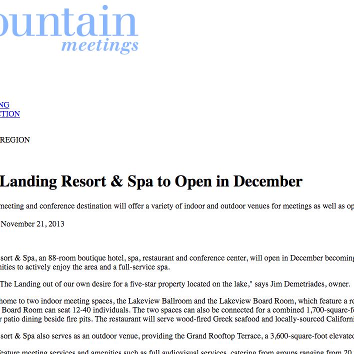 mountain meetings screenshot
