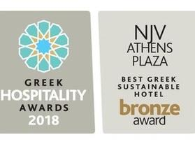 BEST GREEK SUSTAINABLE HOTEL BRONZE AWARD