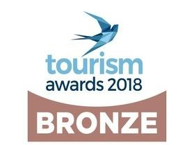 TOURISM AWARDS 2018 BRONZE AWARD