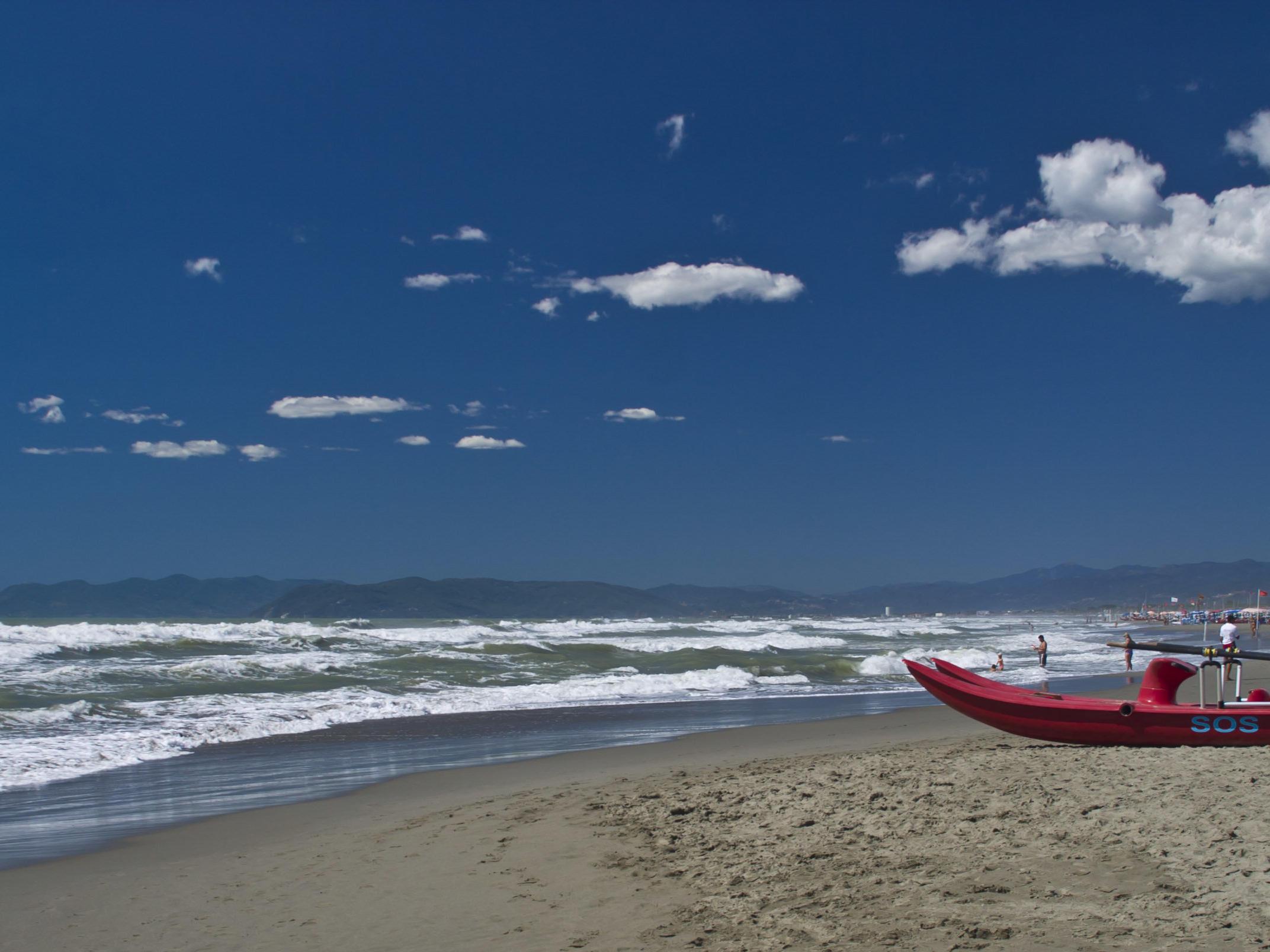 spiaggia Versilia mare
