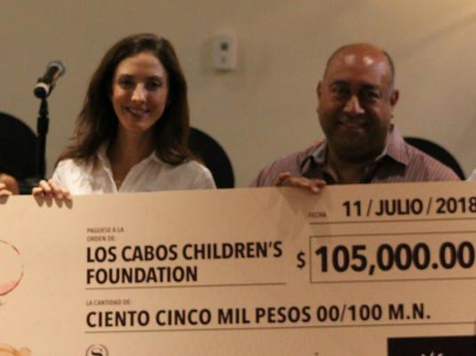 Hacienda Del Mar Donation Check