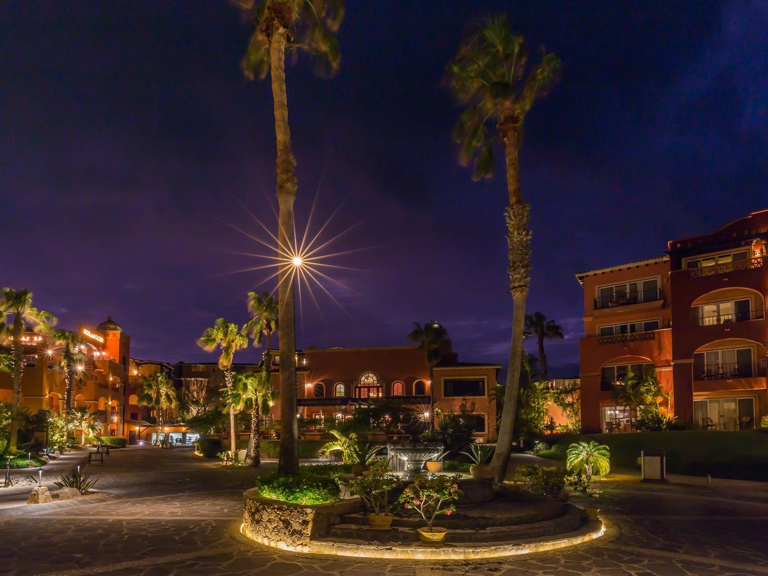 Hacienda del Mar at Night