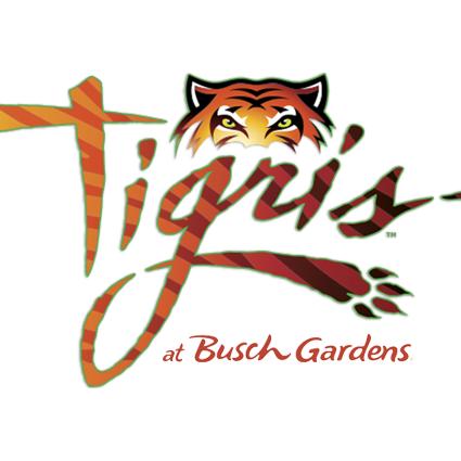 Tigris at Busch Gardens logo