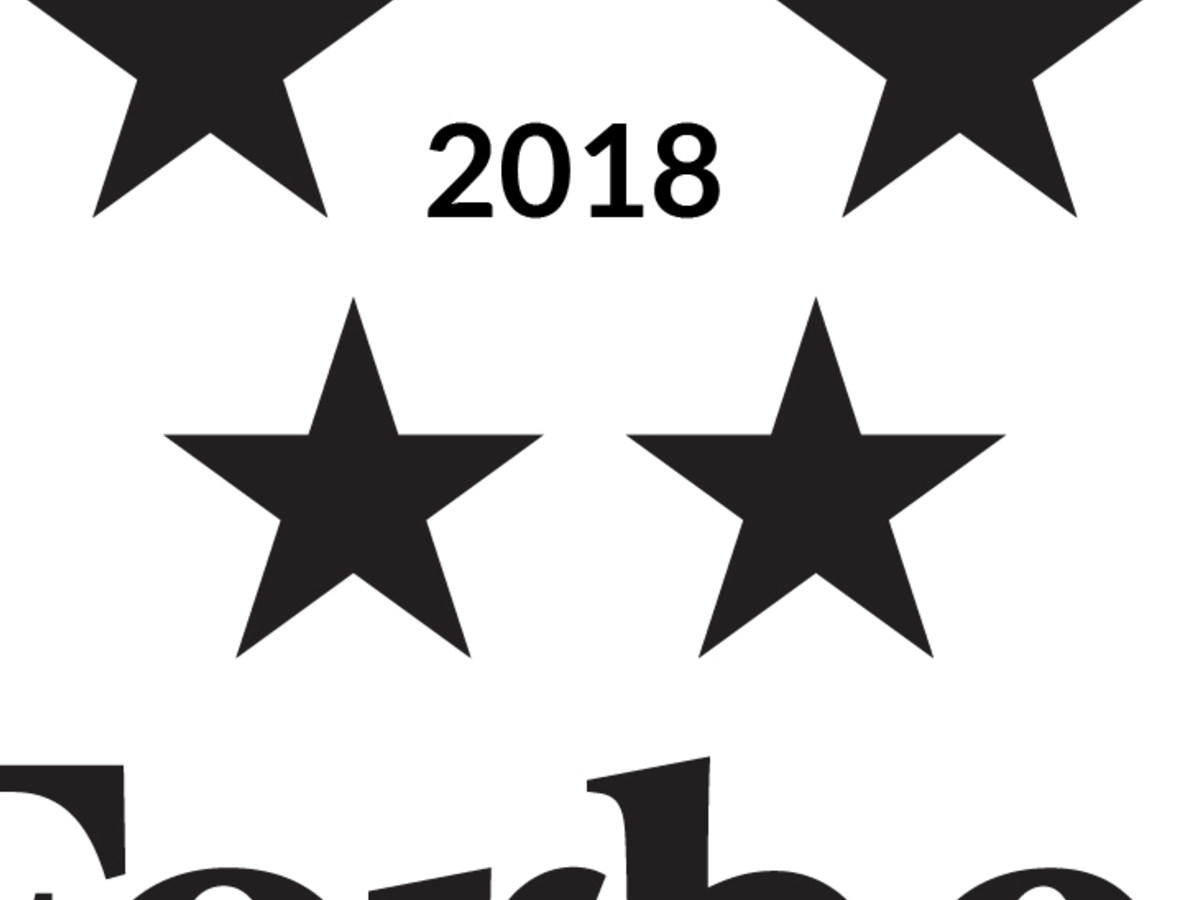 Forbes Five Star rating logo