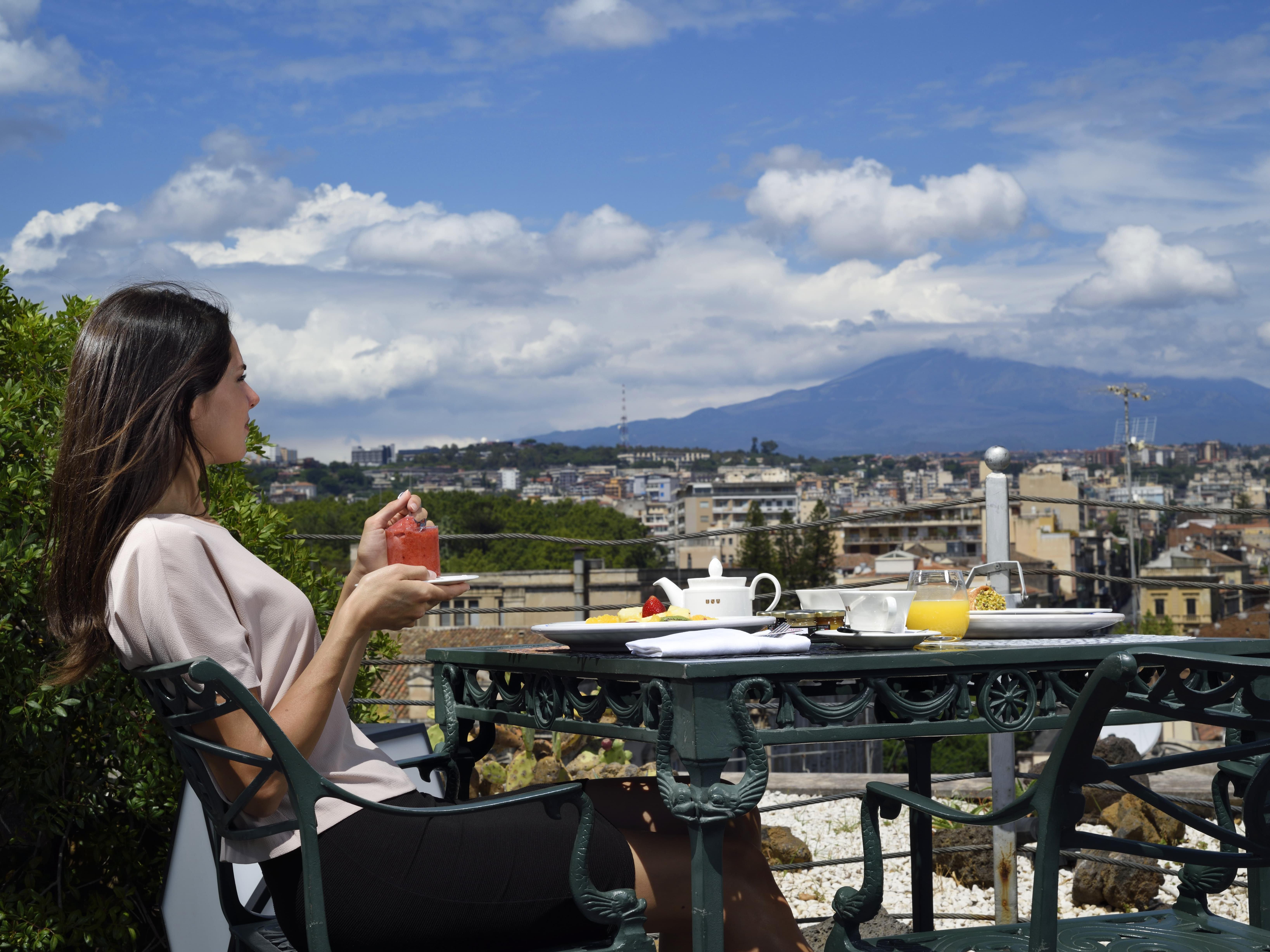 terrazza panoramica Palace Catania | UNA Esperienze