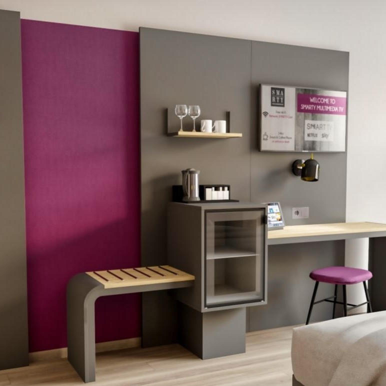 SMARTY 2.0 FURNISHING CONCEPT AT THE SMARTY COLOGNE DOWNTOWN
