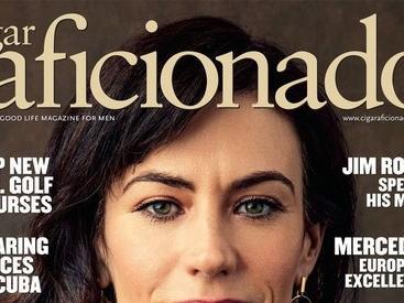 Cover of Cigar Aficionado magazine