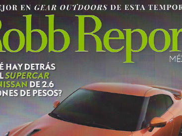 Cover of Robb Report Mexico magazine cover