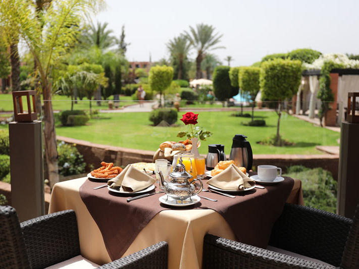 Terrace at Kenzi Hotels Group