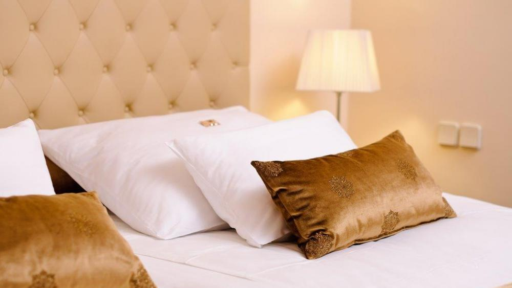 Feather Pillow at Union Hotels Collection in Ljubljana