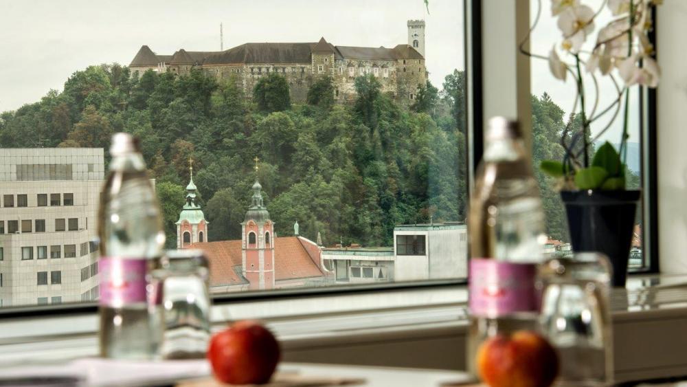 Views from Hotel LEV in Ljubljana