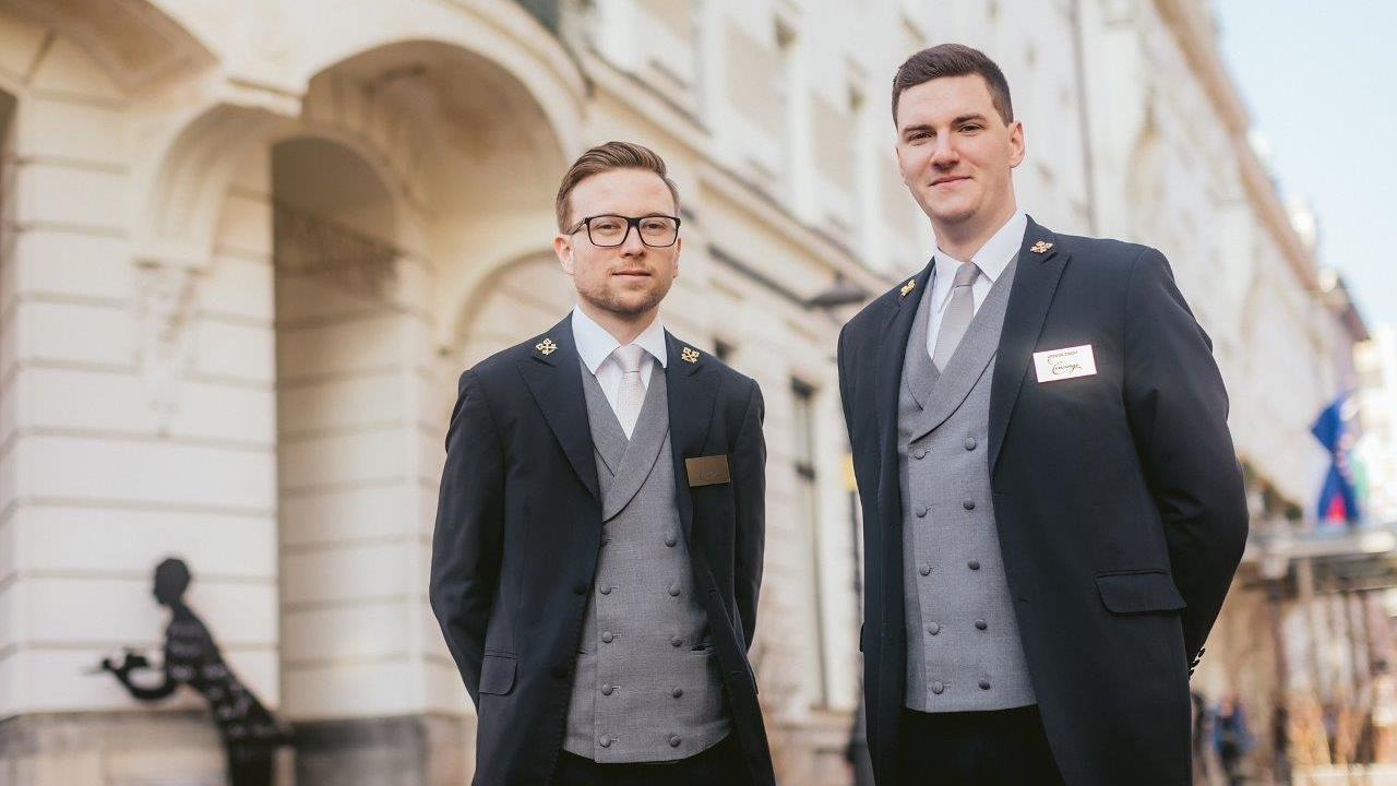 Concierges of Grand Hotel Union in Ljubljana