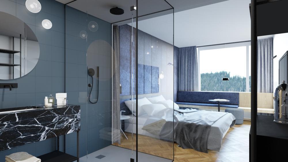 Premier room at Hotel LEV in Ljubljana