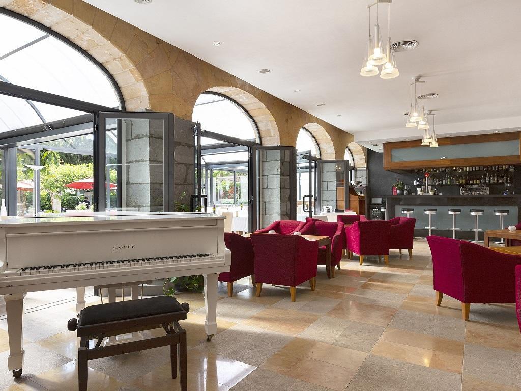Lobby bar at Gran Hotel Sóller in Sóller, Majorca