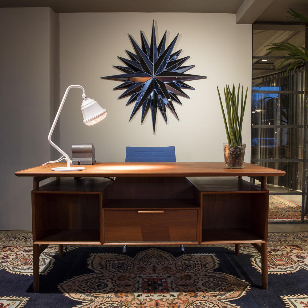 Office Table at Hotel Flora