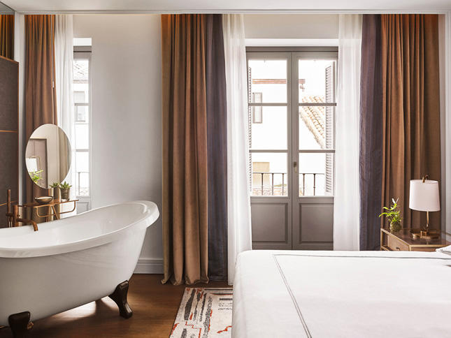 Rooms at the Gran Hotel Inglés