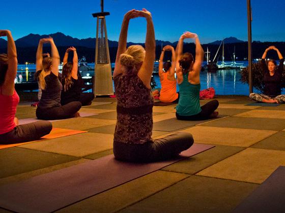 Full Moon Yoga