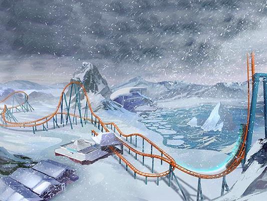 Ice Breaker is SeaWorld Orlando's Newest Roller Coaster