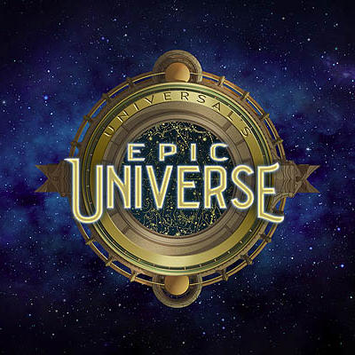 Logo for Universal's Epic Universe