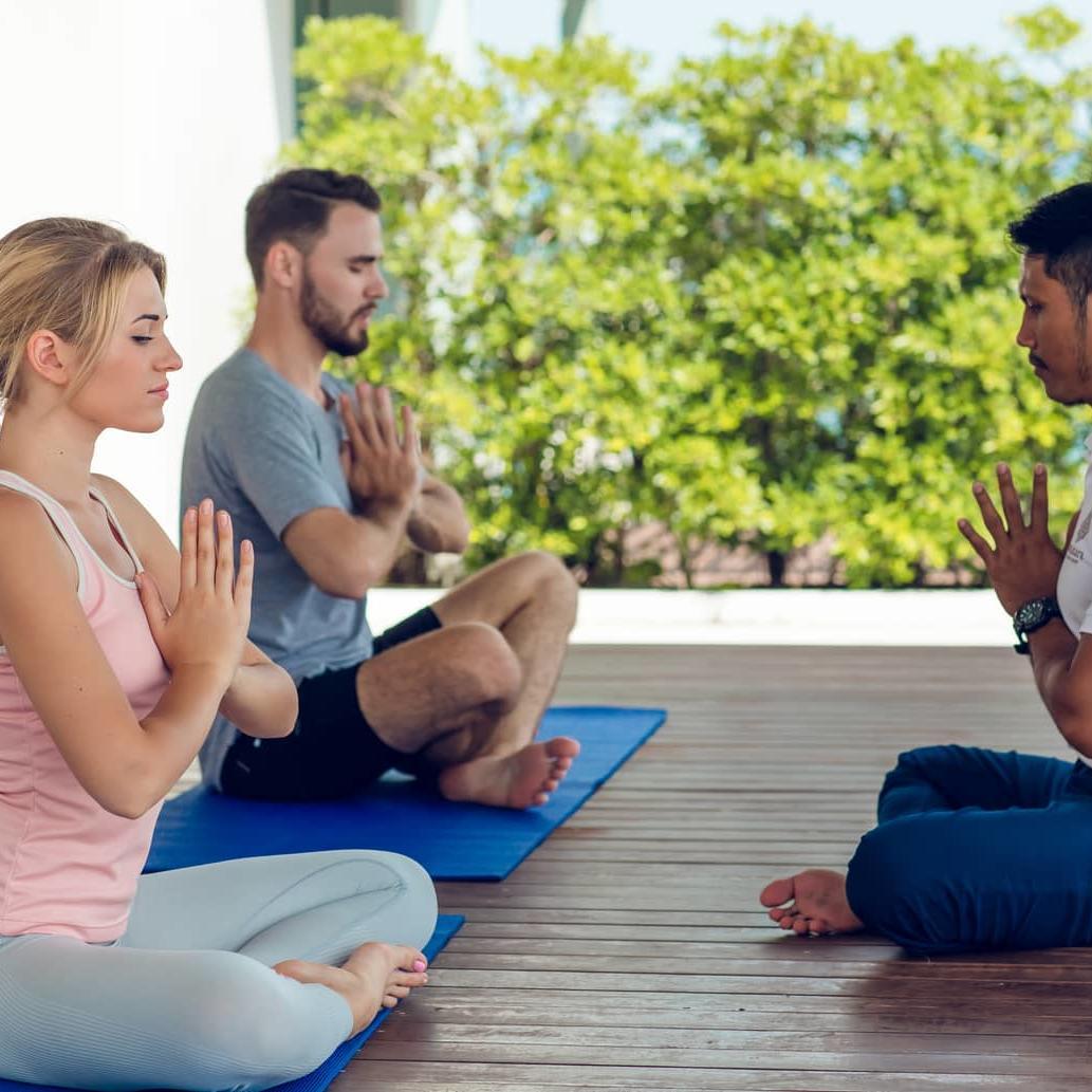Yoga class - Amatara Wellness Resort