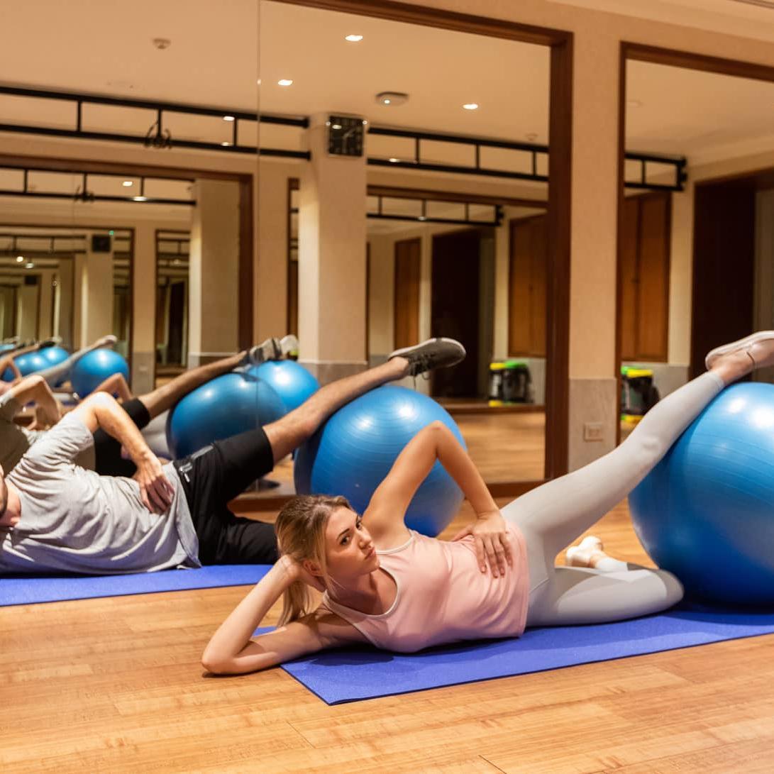 Fitness class  - Amatara Wellness Resort