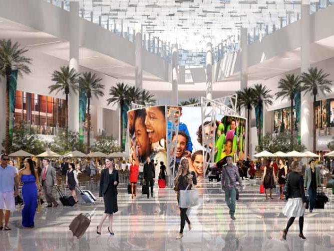 Orlando International Airport - Terminal C Concept Art