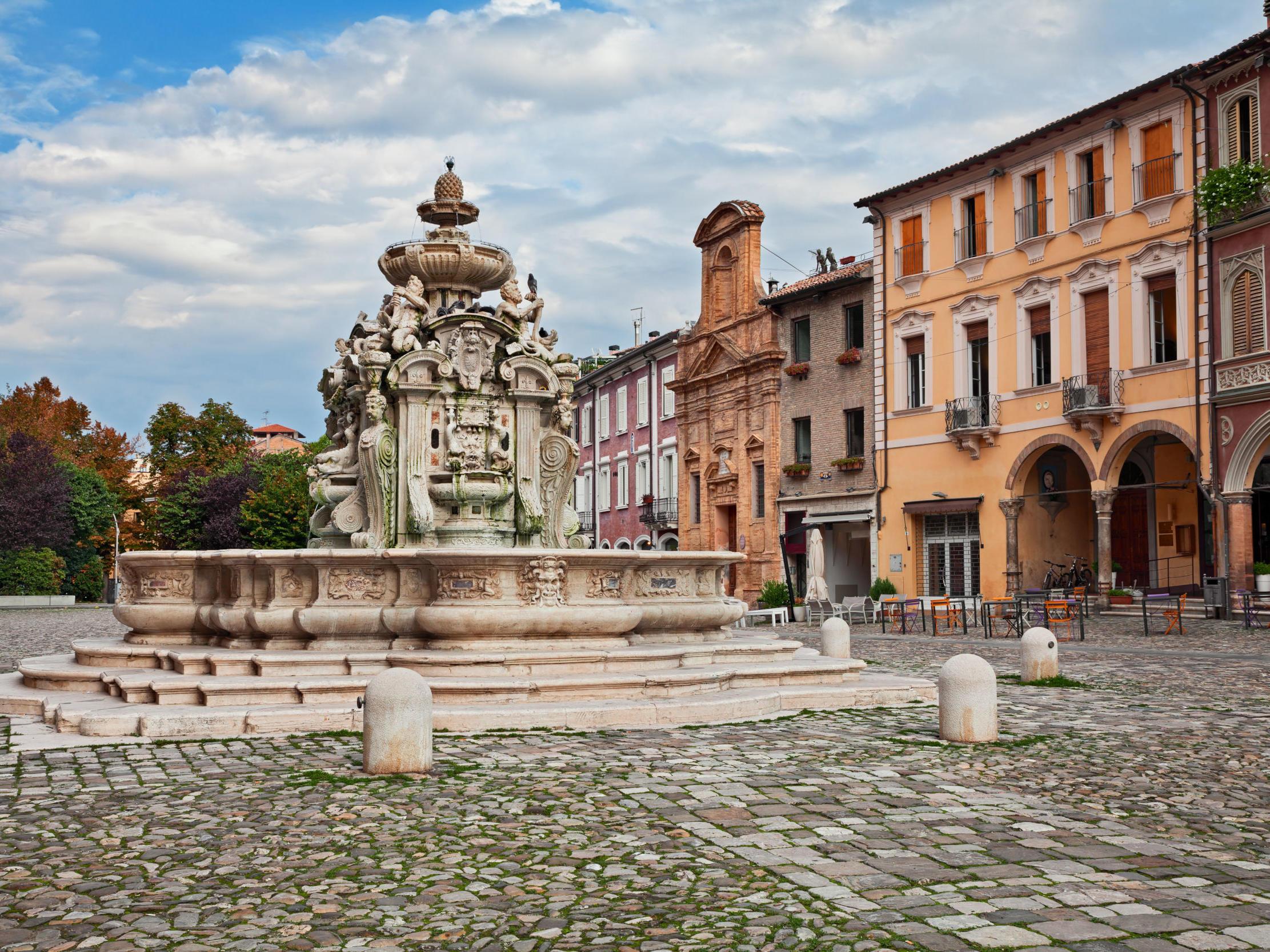 Fontana del masini a Cesena