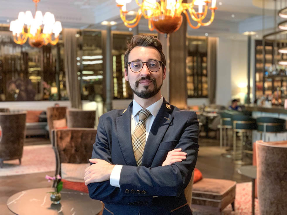 Interview with David Veguillas, Head Concierge at Gran Hotel Inglés