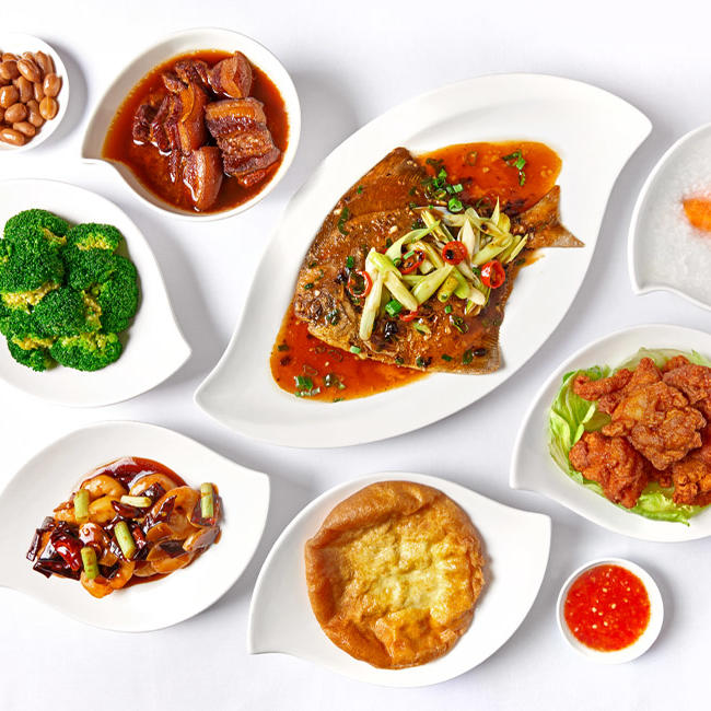 Variety of Dishes - Goodwood Park Hotel
