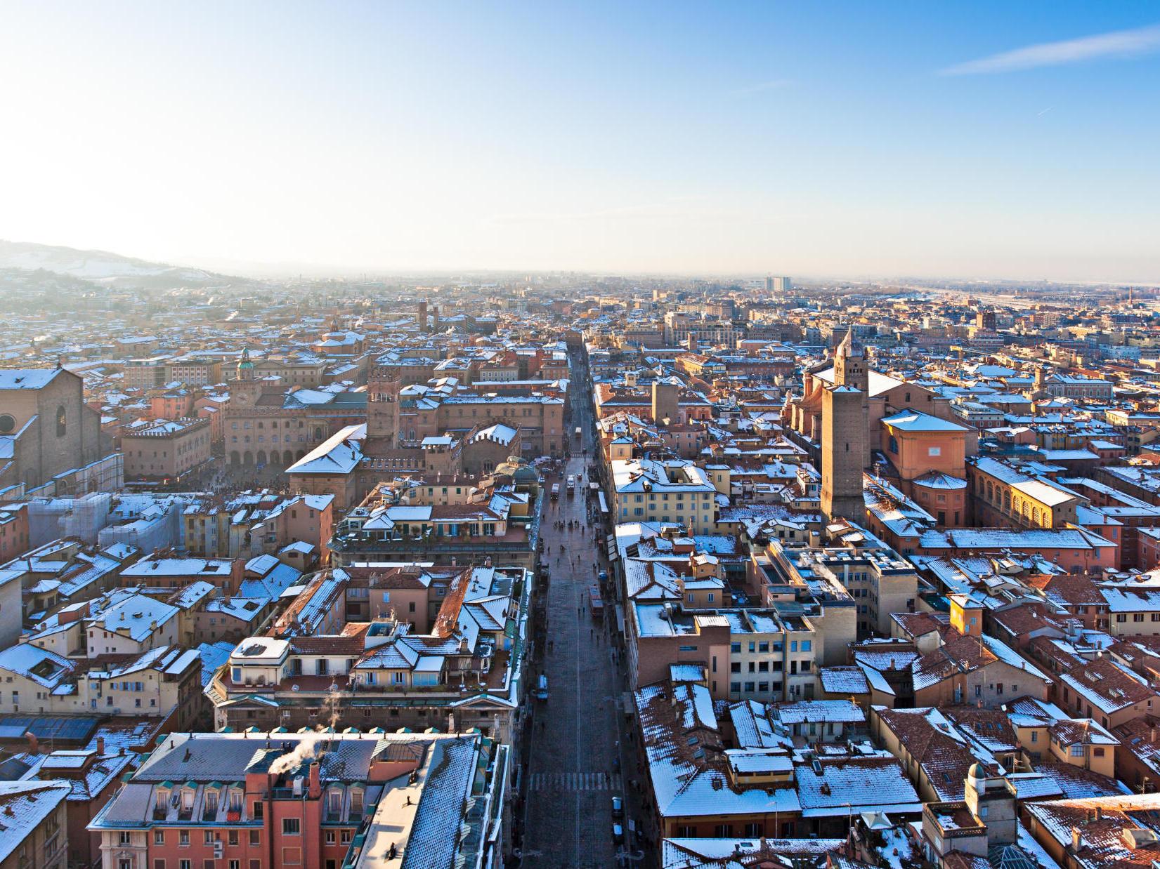 Bologna in inverno
