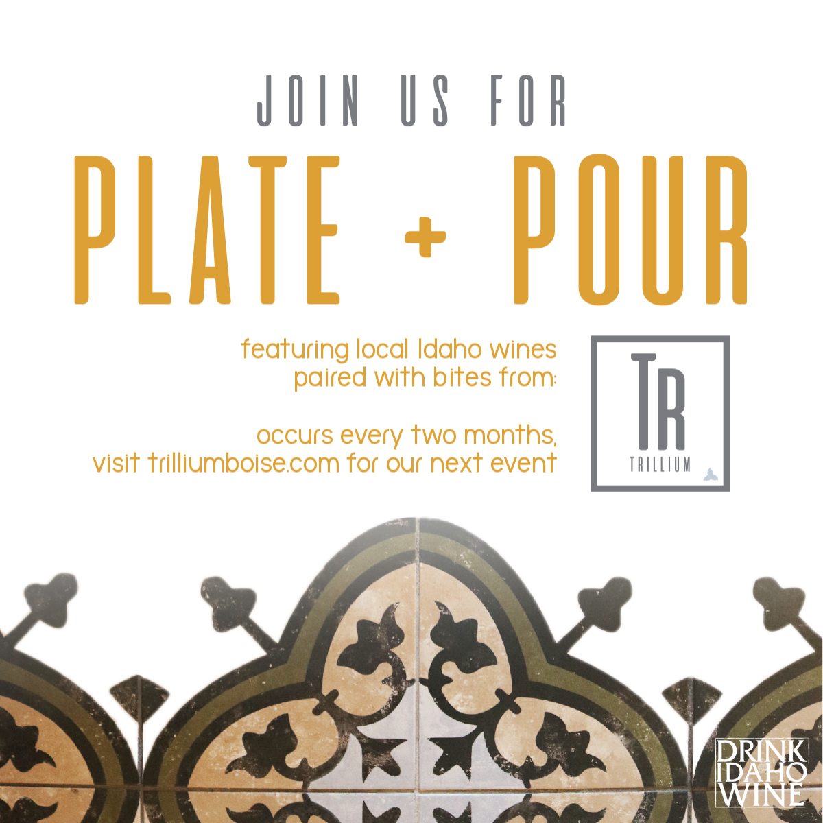 Plate and pour event at trillium