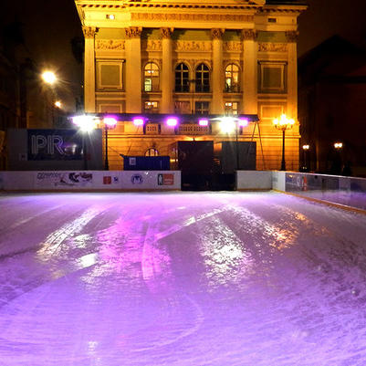 Ice Skating in Prague