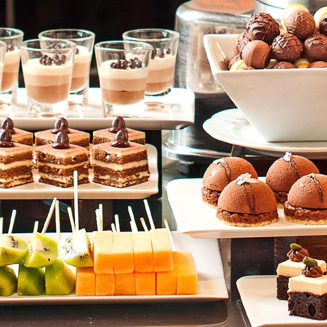 Choco Fondue - Goodwood Park Hotel