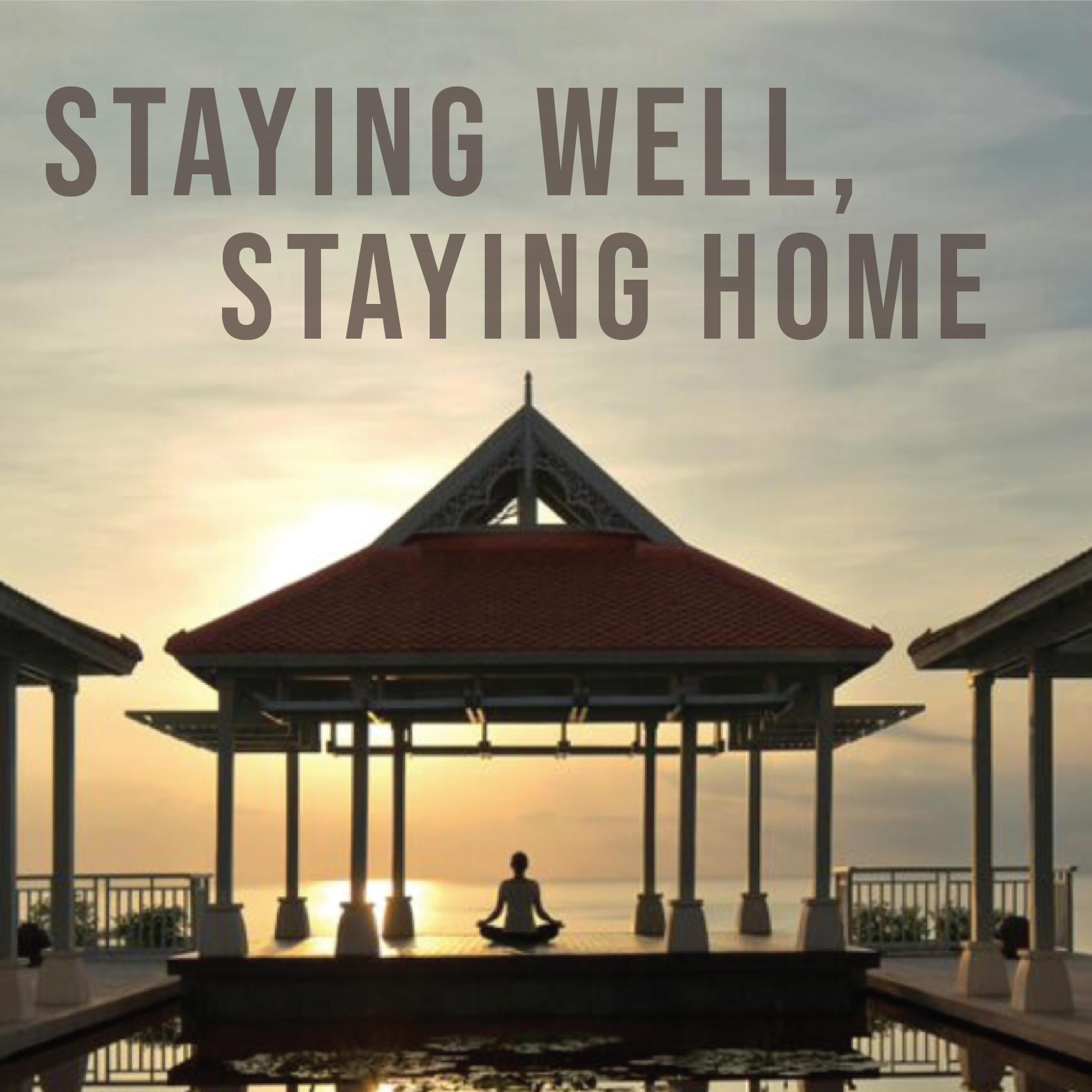 Staying well, staying home  - Amatara Wellness Resort