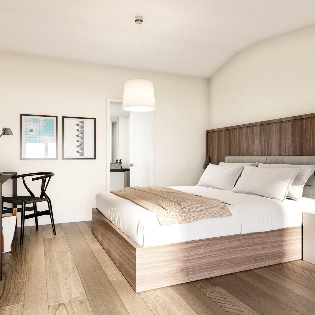 Guest Room, The Roundtree, Amagansett, Hotel in Hamptons